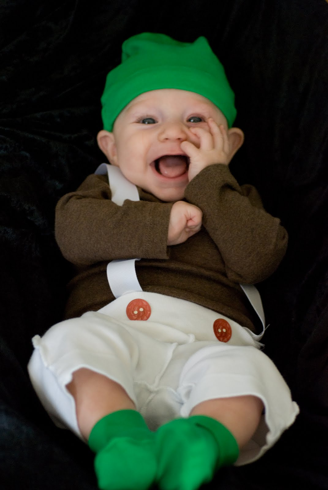 Bringing Baby Make Oompa Loompa Costume