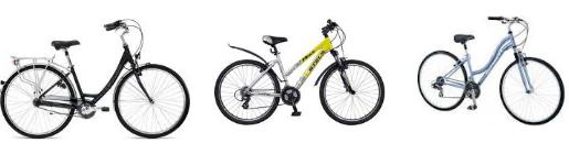 Современные женские велосипеды
