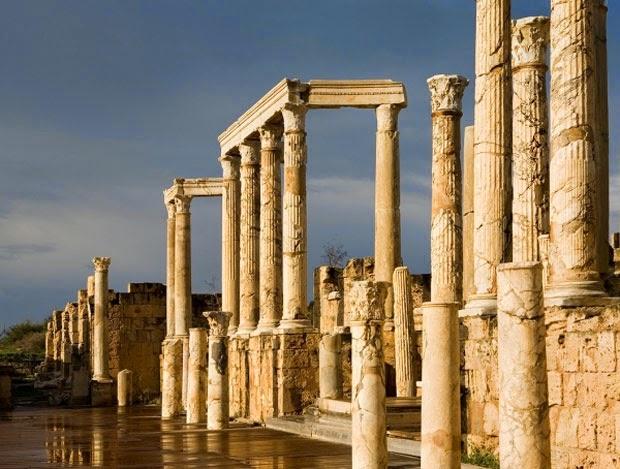Римляне в Ливии
