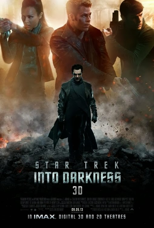Poster Of English Movie Star Trek Into Darkness (2013) Free Download Full New Hollywood Movie Watch Online At Alldownloads4u.Com