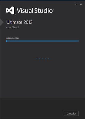 Descarga del fichero ISO de Microsoft Visual Studio .net 2012