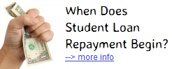 When Does Student Loan Repayment Begin?