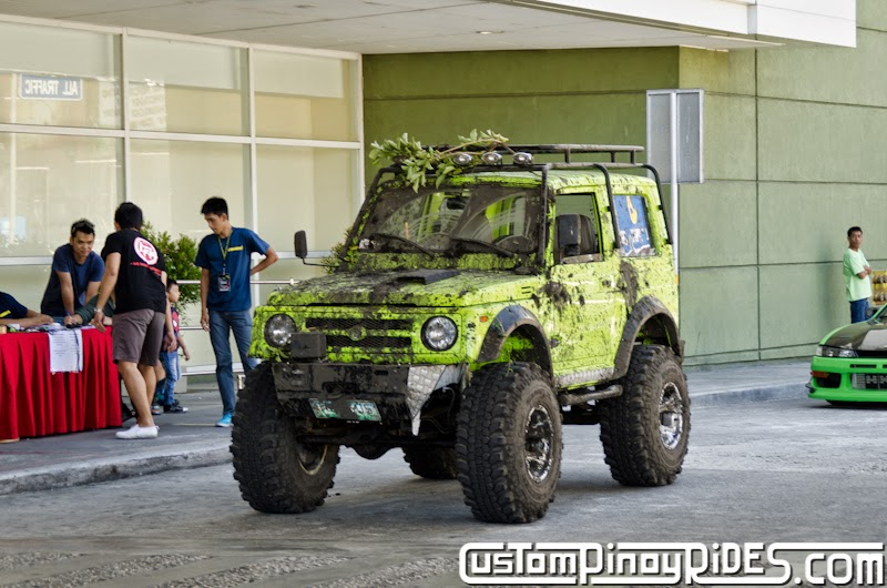 Neon Ninja Monster Suzuki Samurai Custom Pinoy Rides Car Photography Manila Philippines pic1