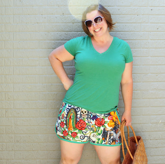 Prefontaine Shorts for Women  || Pattern by Made with Moxie... I hate shorts and these are just my favorite!