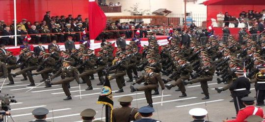 Online vivo Parada Militar Fiestas patrias Peru