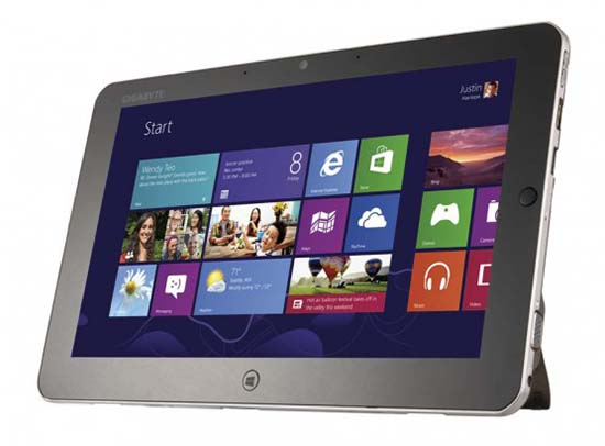 Gigabyte S1185 Review and Specs - A Full HD Windows 8 Tablet
