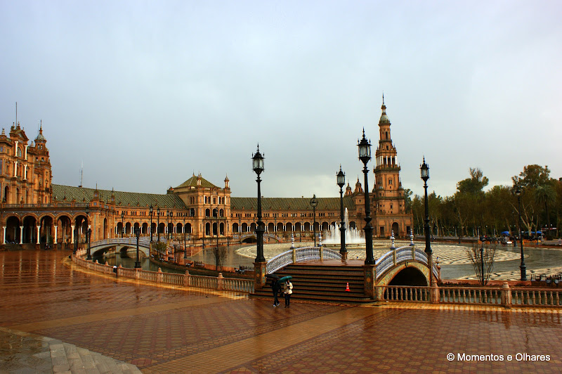 Sevilha, Praça de Espanha