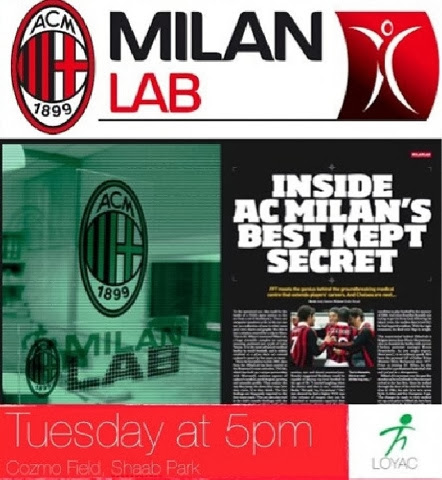 Ladies who do lunch in kuwait ac milan lab at cozmo for Best lunch in milan