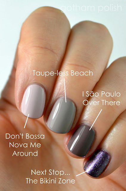 OPI Brazil comparisons