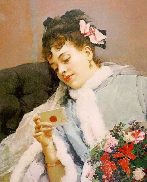 Raimundo Madrazo - The Love Letter
