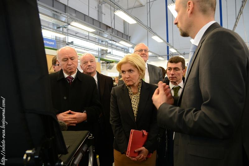 Визит делегации правительства России в Самарскую область: ОТТО БОКК