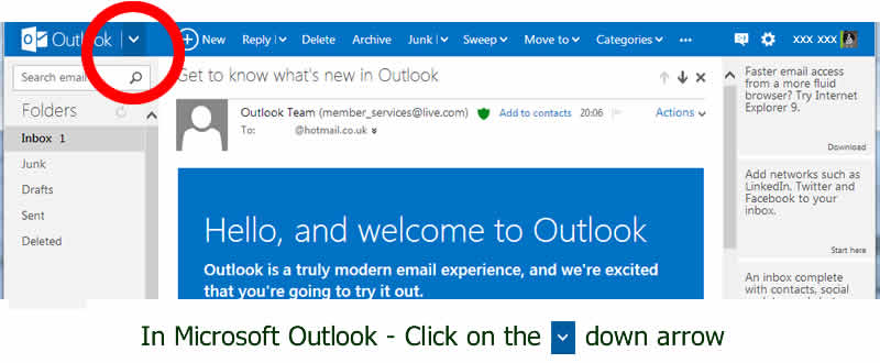 Export all your contacts' email address in Microsoft Outlook - with dog shows in dorset