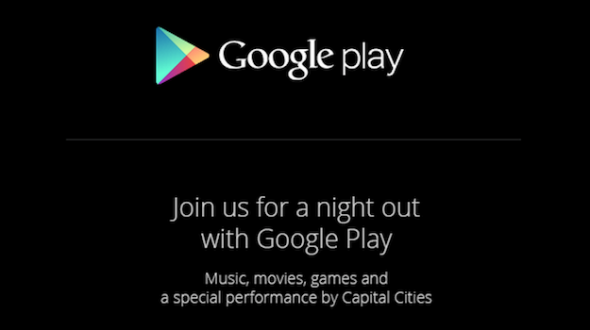 Google Play Event