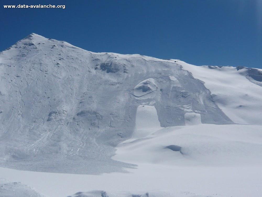 Avalanche Haute Maurienne, secteur Pointe de Cugne - Photo 1