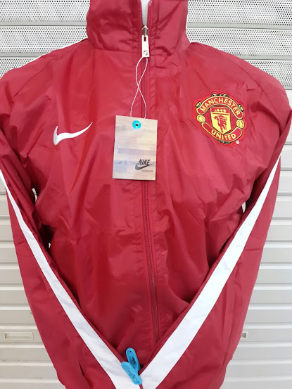 Jual Jaket Parasut Manchester United 2014-2015