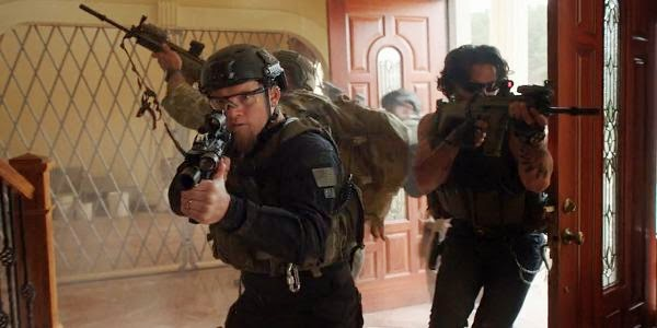 Screen Shot Of Hollywood Movie Sabotage (2014) Download And Watch Online Free at alldownloads4u.com