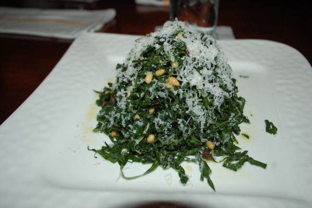Ft Lauderdale Royal Pig Pub & Kitchen - Organic Kale Salad with Lemon Vinaigrette