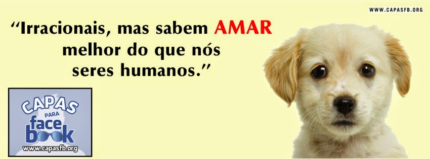 Capas para Facebook Animais