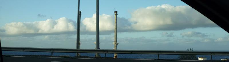 Wolken über dem Atlantik bei Las Palmas. Gran Canaria