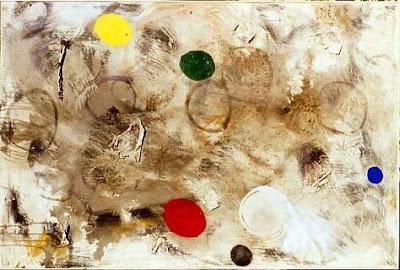 Liberté, 1997 100 x 150 cm, t.m. avec collage sur toile