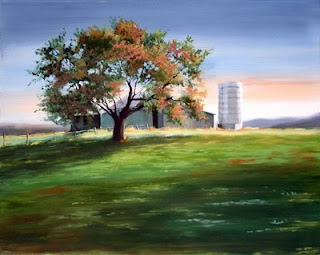 """October Dawn"" by Gloria Gewinner-Ide."