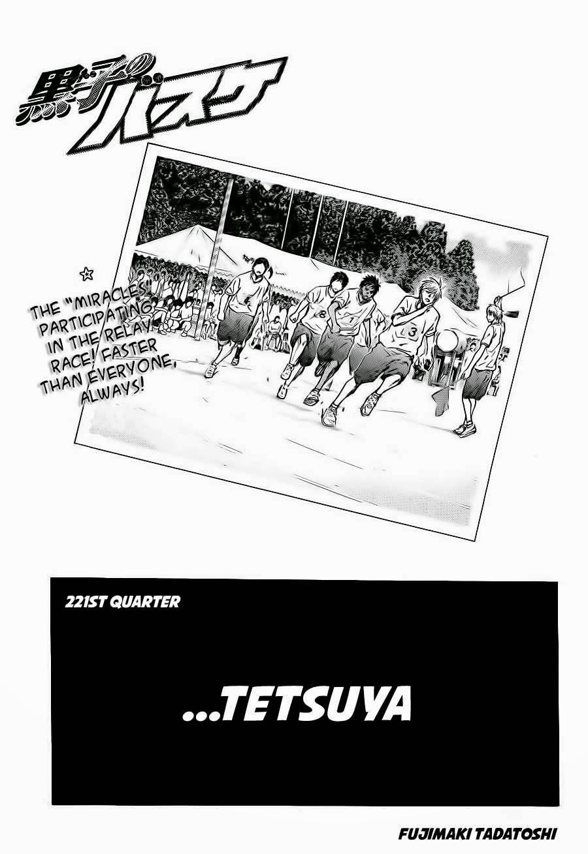 Kuroko no Basket Manga Chapter 221 - Image 01