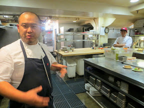 BlueHour Portland, a visit to the kitchen with intro by chef Kyo Koo