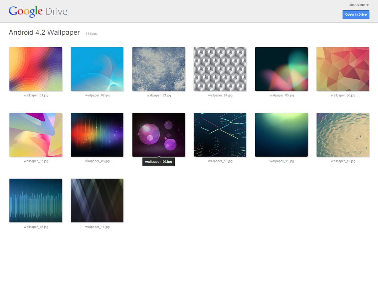 Google Drive Shared Folder New