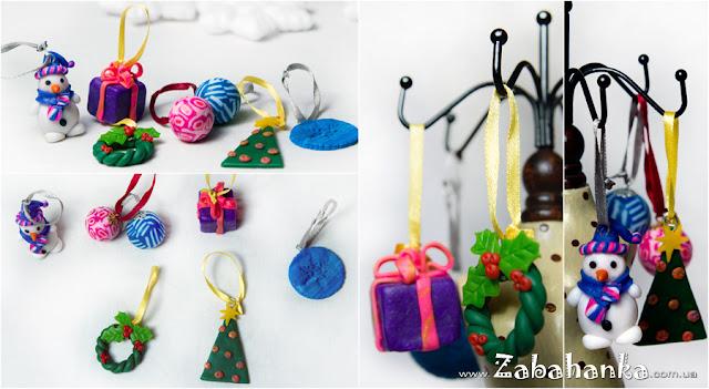 Міні іграшки на ялинку