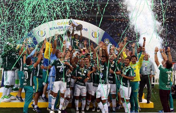 Palmeiras é Eneacampeão brasileiro