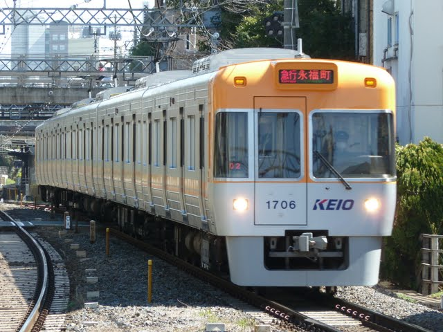 京王電鉄 急行 永福町行き 1000系1~4次車オレンジベージュ