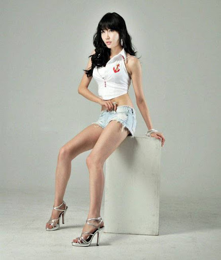 Korean Model Choi Byul I face