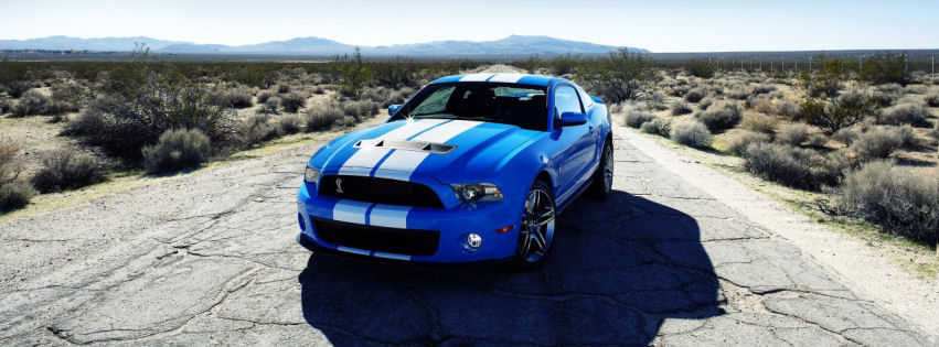 Ford shelby gt500 car facebook cover