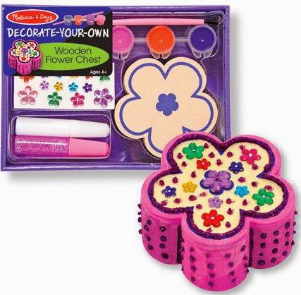 Bộ tô màu và thiết kế hộp trang sức bông hoa ME3333 với các phụ kiện