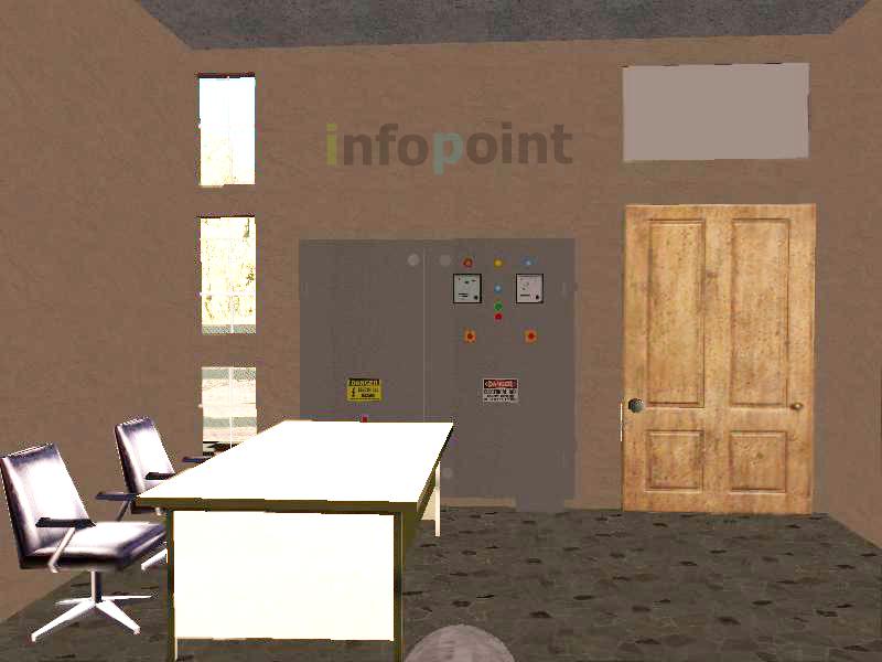 Control Room Interior