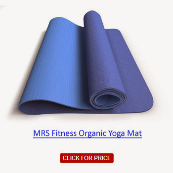 best price MRS Fitness Organic Yoga Mat