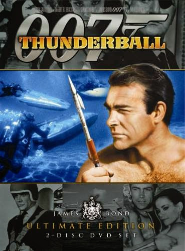 Poster Of Thunderball (1965) Full Movie Hindi Dubbed Free Download Watch Online At Alldownloads4u.Com