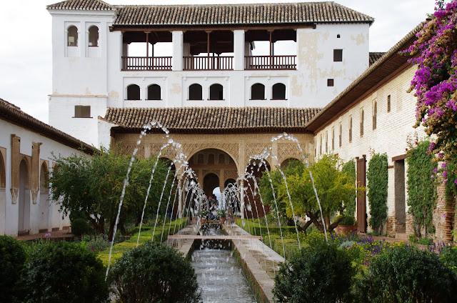 Blog de voyage-en-famille : Voyages en famille, Grenade, l'Alhambra