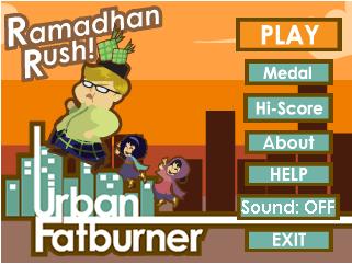 Ramadhan Rush : Urban Fatburner [By Agate Studio] RR1