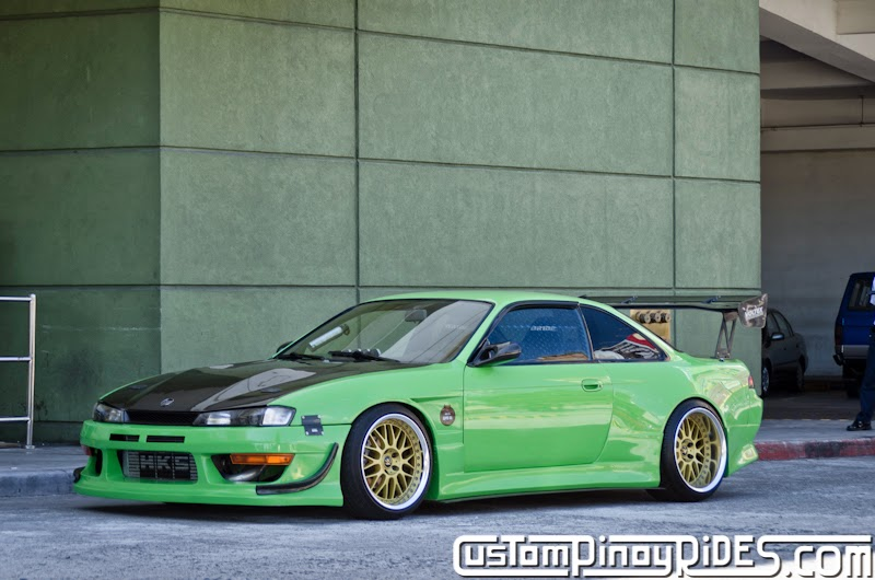Mean Green Nissan S14 Silvia Custom Pinoy Rides Car Photography Philippines Philip Aragones THE aSTIG pic3