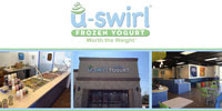 Frozen Yogurt Houston TX U-Swirl Frozen Yogurt Logo