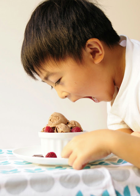 Asian Family Recipes: Chocolate Ice Cream