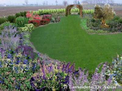 Progetti giardini privati progetti piccoli giardini for Rendering giardino