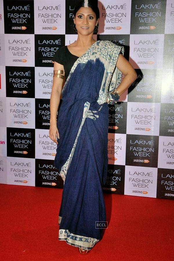 Konkona Sen Sharma during Lakme Fashion Week curtain-raiser, held in Mumbai, on July 28, 2014. (Pic: Viral Bhayani)