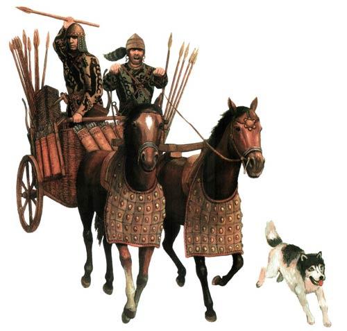 колесницы на ближнгем востоке