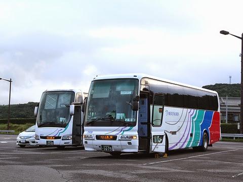 名鉄バス「グラバー号」 大村湾PAにて