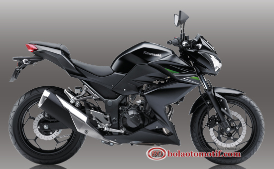 New kawasaki z250 rs black