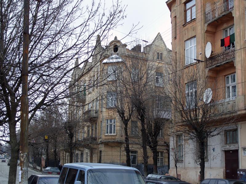 Львов. Улица Шевченко