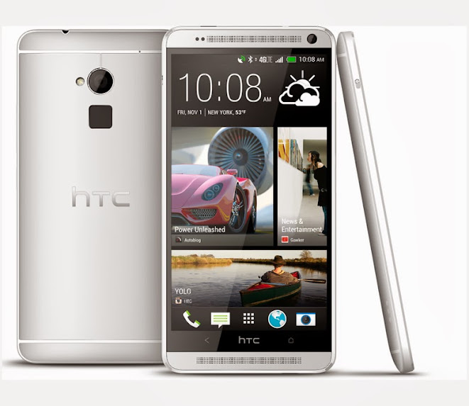 HTC One Max Spesifikasi Lengkap dan Harga, Ponsel Premium Quad Core
