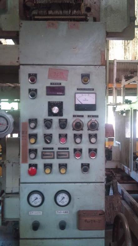 富士機械工業製 3色グラビア輪転印刷機